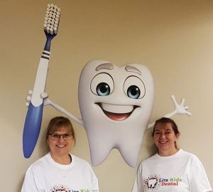 Litz Kidz Dental Hygienists Donna and Mary Anne